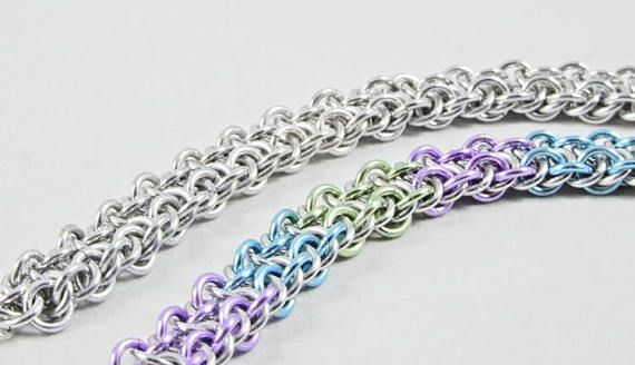 Beautiful Chunky Chainmaille Bracelet