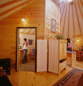how to build a yurt home