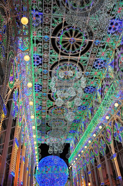 Amazing Lights Valencia Spain