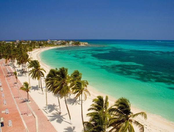 El mar de los 7 colores. San Andrés Islas.