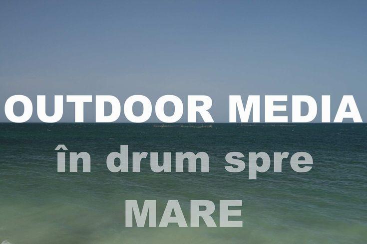 Publicitate outdoor pe drumul spre Mare