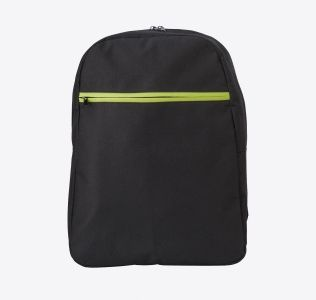 Promotional Sports Rucksack With Front Zipped Pocket. Polyester 600D