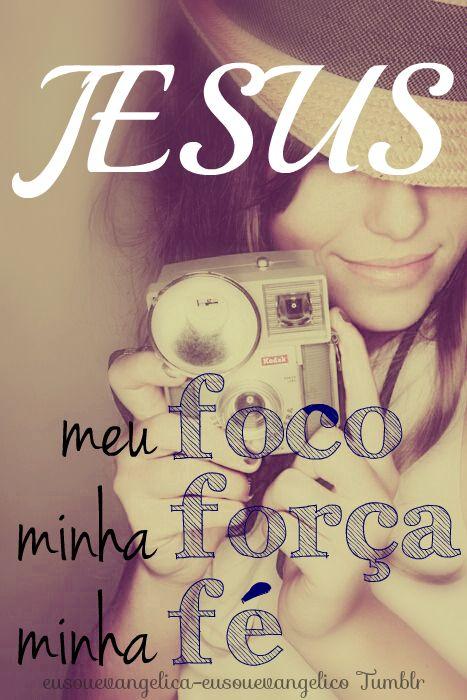 JESUS é meu tudo!!  ' >> Eu Sou Evangélica / Eu Sou Evangélico