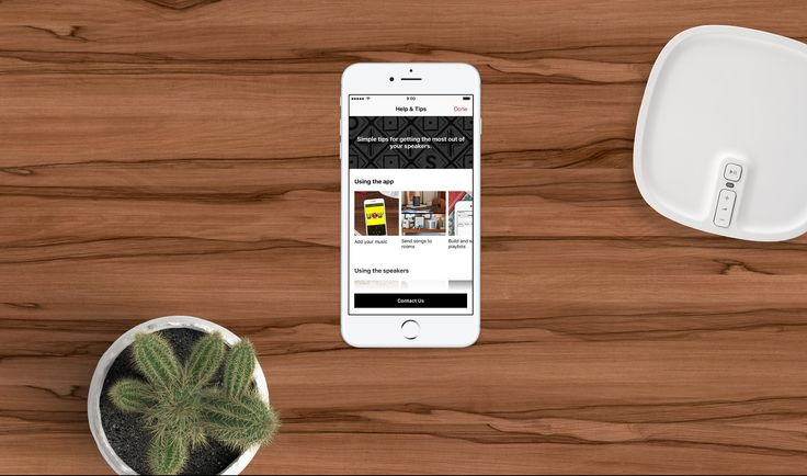 Our Sonos app has a new Help & Tips section to help you get more from your home sound system.