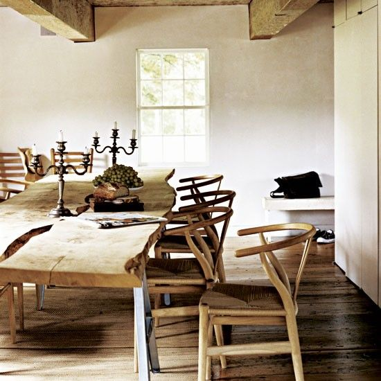 24 best images about hans wegner the wishbone chair y for Wishbone chair table