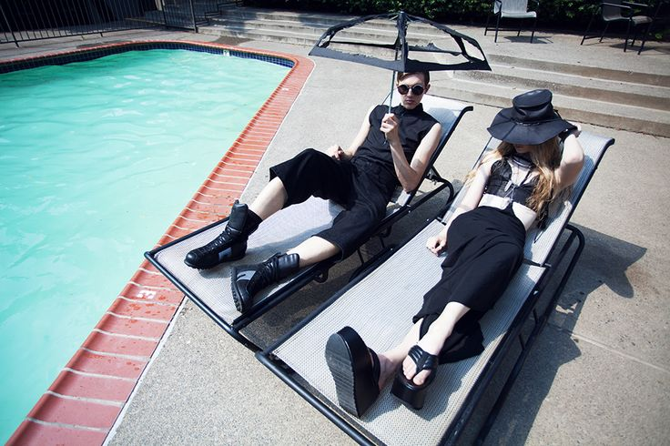 This is me living in Florida.....goths in hot weather via Solestruck