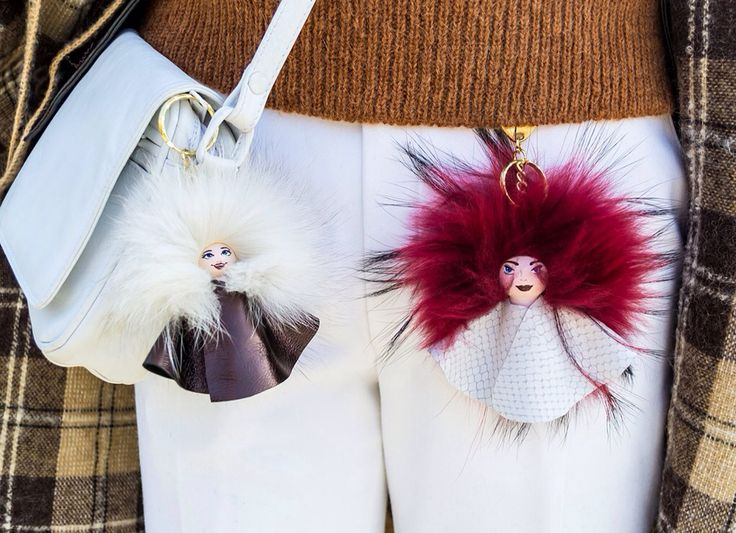 Dollzzzz for your purse #everbrildolls #bagcharm #handmade #unique #furcharm #bagbug