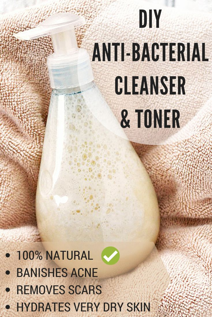 Natural Face Cleanser For Oily Acne Prone Skin