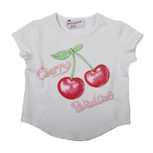 Monnalisa Cherry T-shirt