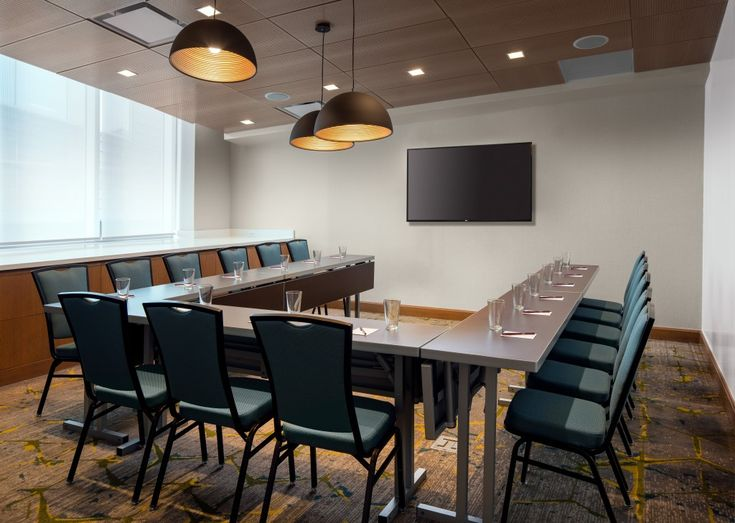 Residence Inn Washington Capitol Hill Navy Yard U Shape Meeting Room Design By Group One