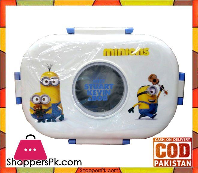 On Sale: High Quality Minion Lunch Box For Kid Price Rs. 700 https://www.shopperspk.com/product/high-quality-minion-lunch-box-for-kid/