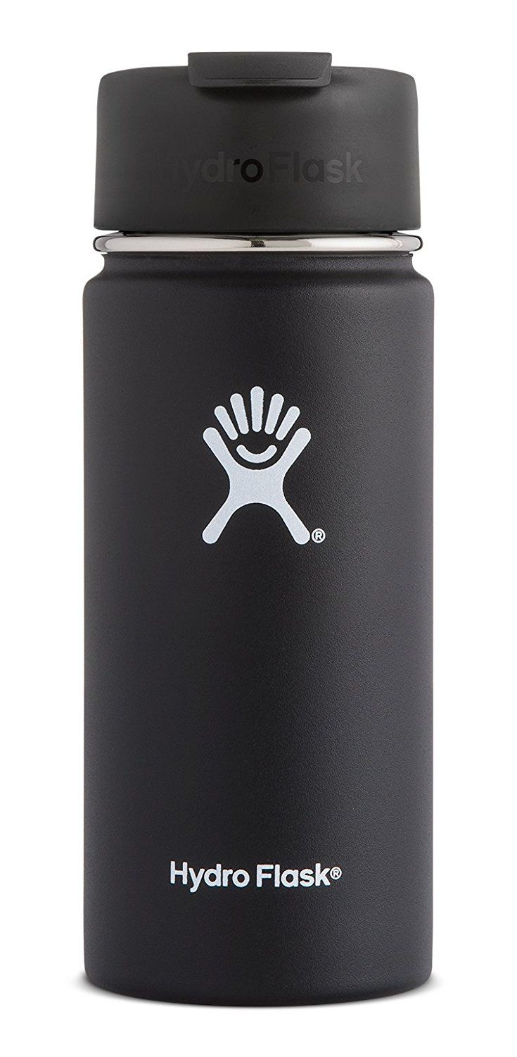 Amazon.com : Hydro Flask Vacuum Insulated Stainless Steel Water Bottle, Wide Mouth w/Hydro Flip Cap : Kitchen & Dining