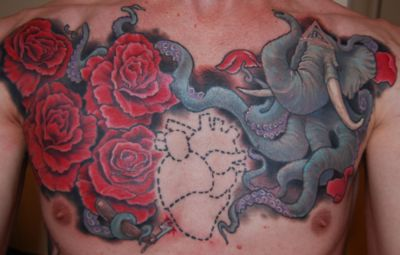 Empire Tattoo, Adelaide, South Australia at the hands of the Red God, James.