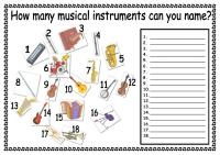 Name the Musical Instruments .pdf