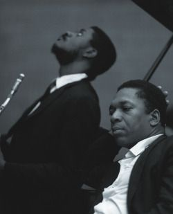 Jazz. Uncut. Trane and Schepp.