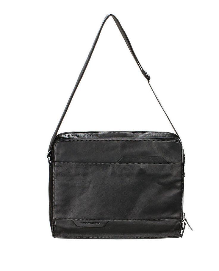 CARTELLA REPORTER PIQUADRO EUCLIDE CA3683S73N Business men Borsa a tracolla porta pc porta ipad black mood bag's leather