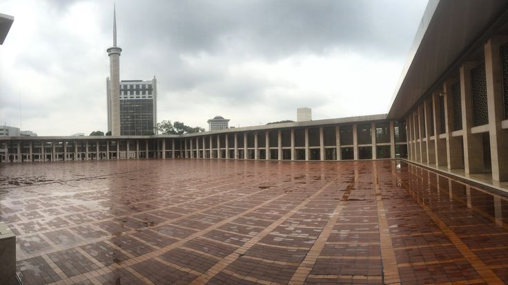 "Masjid Istiqlal in Jakarta, Indonesia is the largest mosque in Southeast Asia. This national mosque of Indonesia was built to commemorate Indonesian independence and named ""Istiqlal"". The mosque was opened to the public 22 February 1978"