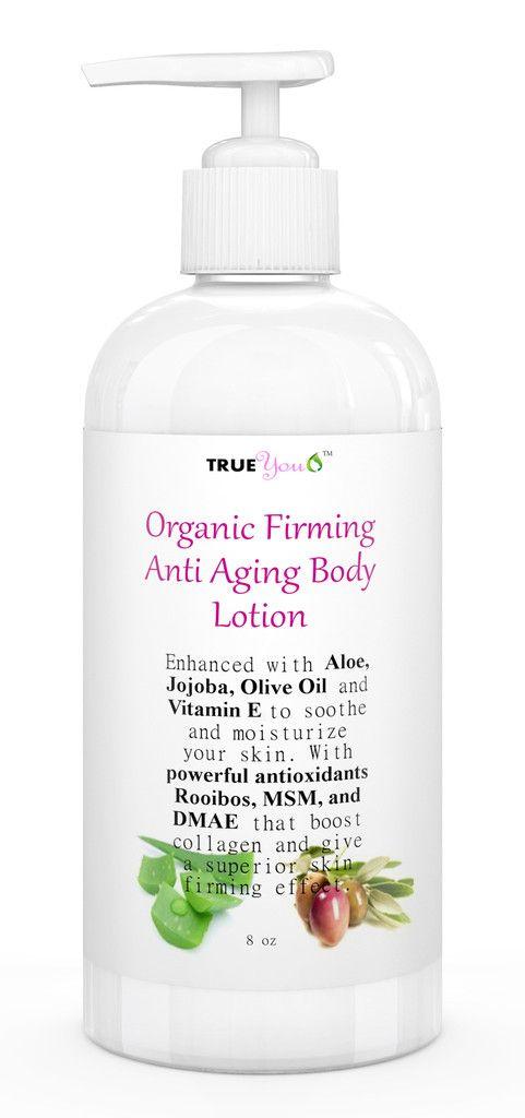 Anti Aging Body Lotion - Best Skin Firming Lotion – True You Organics