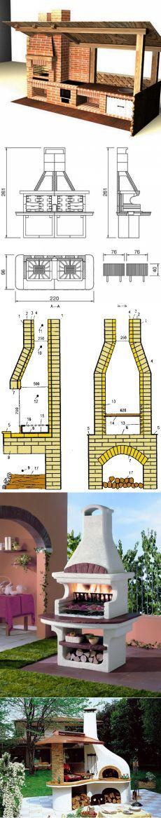 Проект и монтаж уличного камина на приусадебном участке своими руками. Делаем уличный камин. помочь самому построить камин в саду | Делаем своими руками