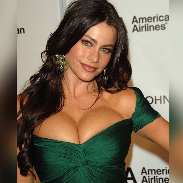 Sofia Vergara #sofiavergara #modernfamily #hotpursuit #chef #thesmurfs #beautiful #sexy #dress #woman