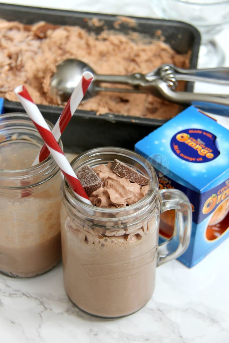 Easy THREE INGREDIENT Terry's Chocolate Orange Ice Cream. No-Churn, Delicious, Ridiculously Easy to make. So, I got bored one day… I had some Terry's Chocolate...