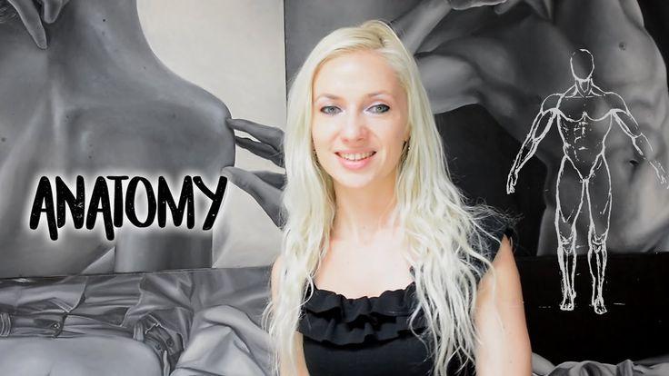 Anatomy for artists - Art theory by Oana Unciuleanu