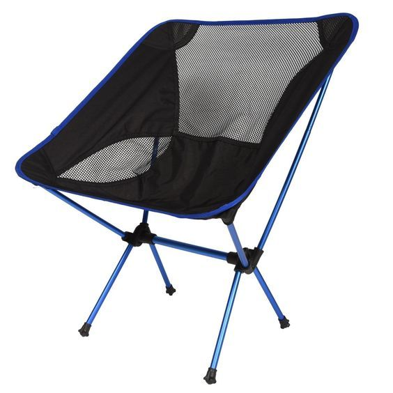 LazyDaze Hammocks® Portable Ultralight Camping Chair Outdoor Folding Chairs, Sapphire Blue ** Click on the image for additional details.