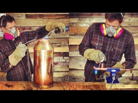 How to Make 5 Gallon Brewing and Distilling Equipment: Time-Lapse - YouTube