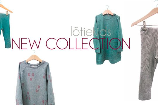 We are online! New collection already available at lotiekids.com Hope you like it!