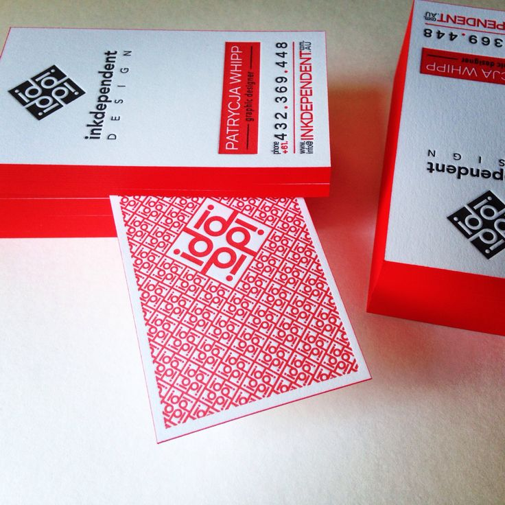 #letterpress #businesscards #inkpaperart