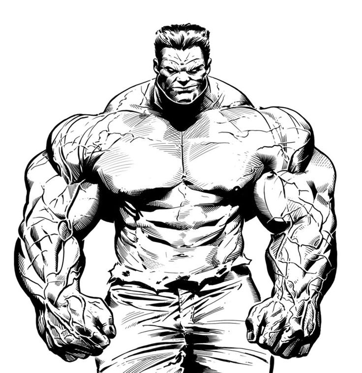 hulk drawing | Red Hulk by LuisPuig on deviantART