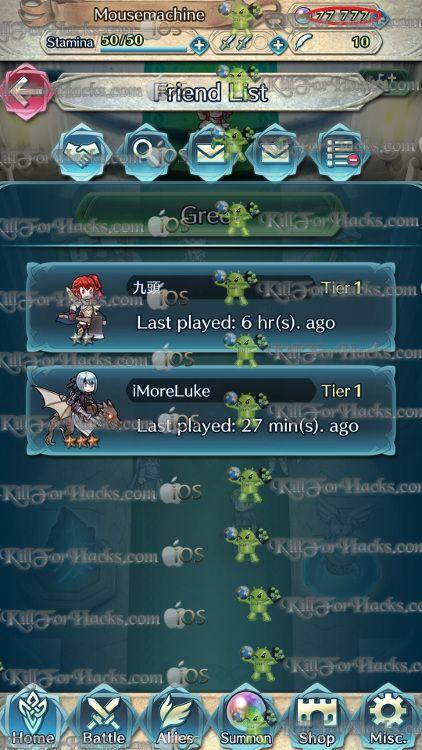 http://killforhacks.com/fire-emblem-heroes-hack-app-ios-ipa-cheats-android-apk-cheats/ Fire Emblem Heroes Hack for iOS iPA and Android Apk. Free Hack Fire Emblem Heroes is very easy to use. Fire Emblem Heroes Hack Online APK Android and Fire Emblem Heroes Hack Online IPA iOS.