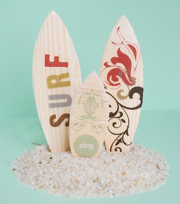 Mini Surfboards {Kid Craft} · Lesson Plans | CraftGossip.com