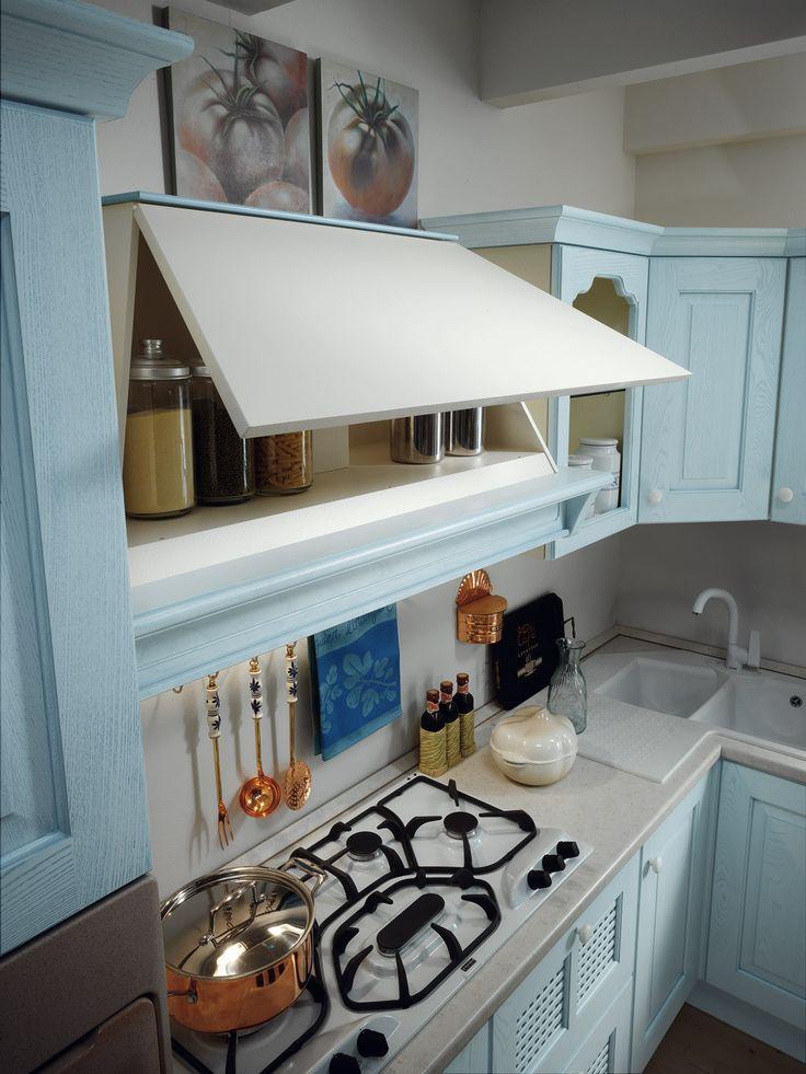 17 migliori idee su cucine colore azzurro su pinterest for Cucine piccole dimensioni