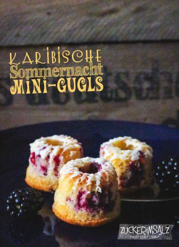 karibische Sommernacht Mini-Gugls - zuckerimsalz