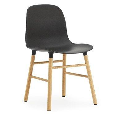 Køb Normann Copenhagen Form Stol med ben i Egetræ - Flot dansk design