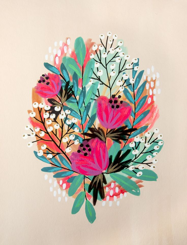 Neon Blooms - Jess Phoenix  jessphoenix.com