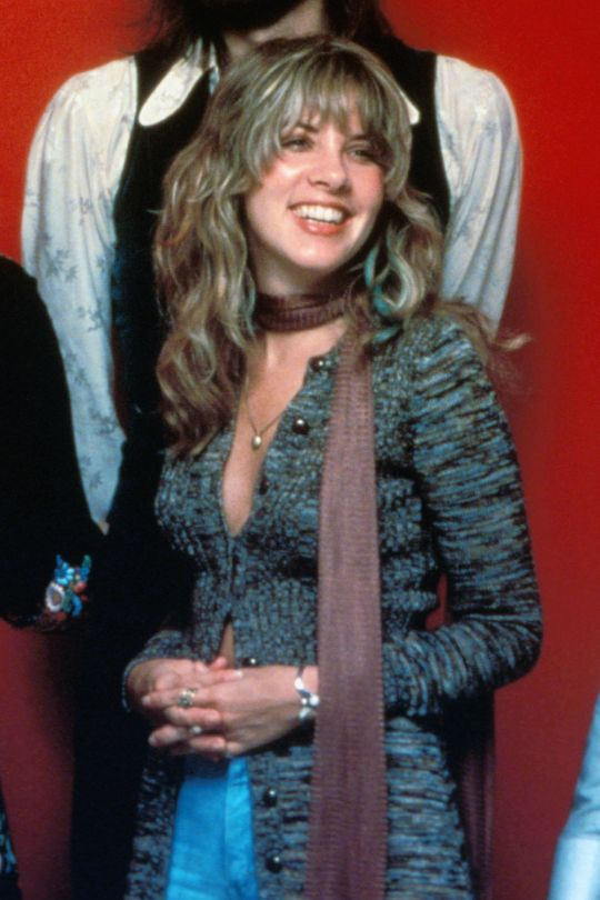 Stevie Nicks such a great smile!
