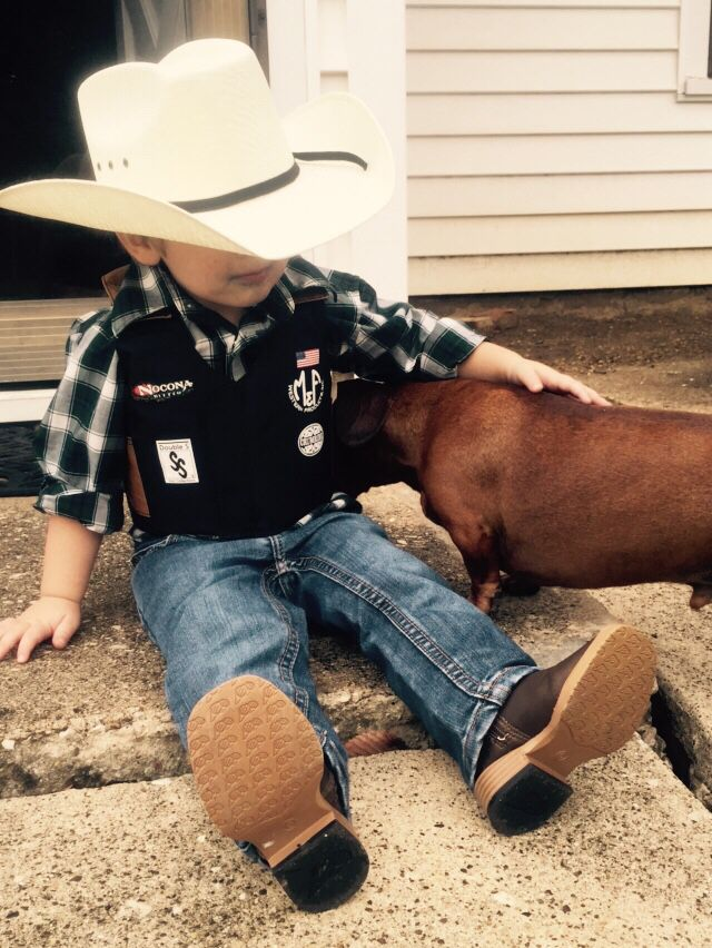 Mini Bull Rider costume for Halloween