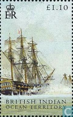 British Indian Ocean Territory - Battle of Trafalgar 2005
