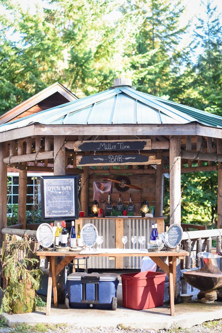 The Bar At Miller Wedding 2017 Shaneonspecialk Were Millers Copper Creek Inn And Resort Mt Rainier Woodland