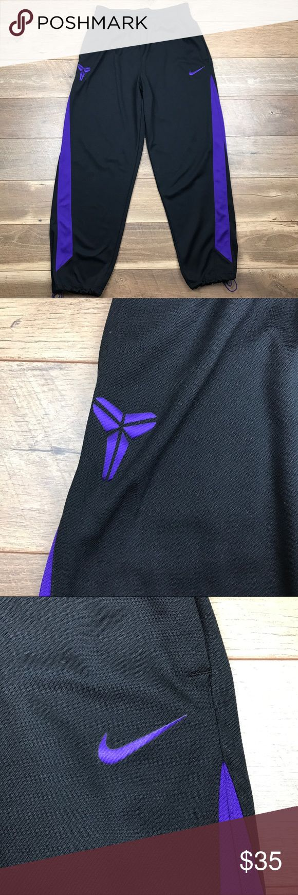Nike Kobe Dri-Fit Basketball Pants Nike Kobe Dri-Fit Basketball Pants. 100% polyester. Adjustable drawstring at waist and at ankles. Lightweight and comfortable. Excellent condition. Nike Pants Sweatpants & Joggers