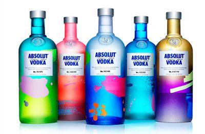 Absolut lança edição de garrafas especiais, únicas e limitadas