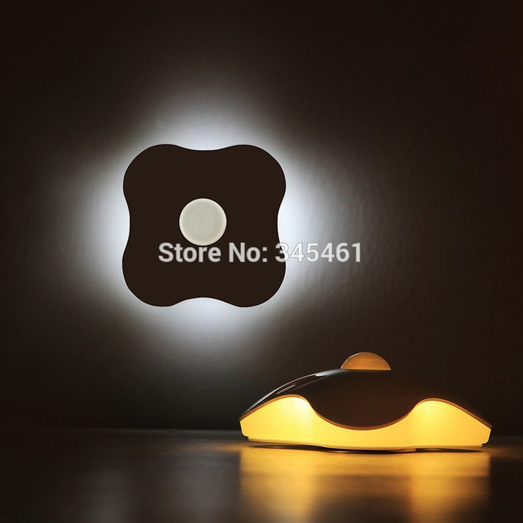 SmartWild Human Sensor Led Night Light Four Leaf Clover Lamps Motion Sensor  Night Light PIR Intelligent LED Lamp For Bedroom Chairs
