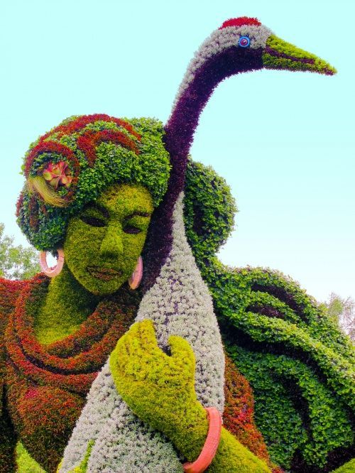 Plant Sculpture Topiaries From Botanical Garden In Mosaiculture  International~Montreal, Canada ༻⚜༺ ❤ ༻⚜༺