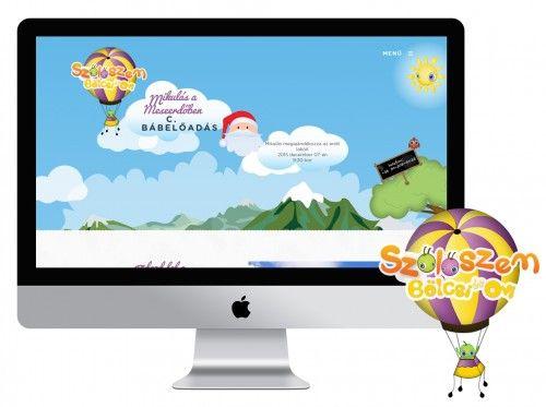 Faragó Bettina végzett webdesigner hallgatónk munkája | www.szoloszemovi.hu