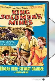 King Solomon's Mines (1950) was filmed mainly in Kenya, as well as in other parts of East Africa. The plot is about adventurer Allan Quartermain leading an expedition into uncharted African territory in an attempt to locate an explorer who went missing during his search for the fabled diamond mines of King Solomon.