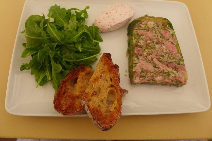 Jambon persillé à la Brasserie des Beaux-Arts (Dijon)