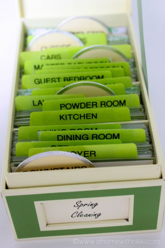 Spring Cleaning Box via ABFOL & At Home With Nikki