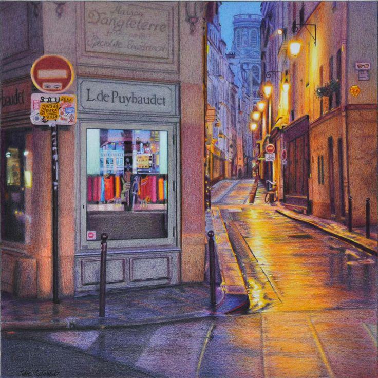 Julie Podstolski / Works / A Month in Paris